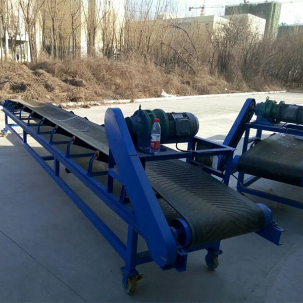 OEM manufacturer Mono Ammonium Phosphate Fertilizer Machine - belt conveyor – Hengyun detail pictures