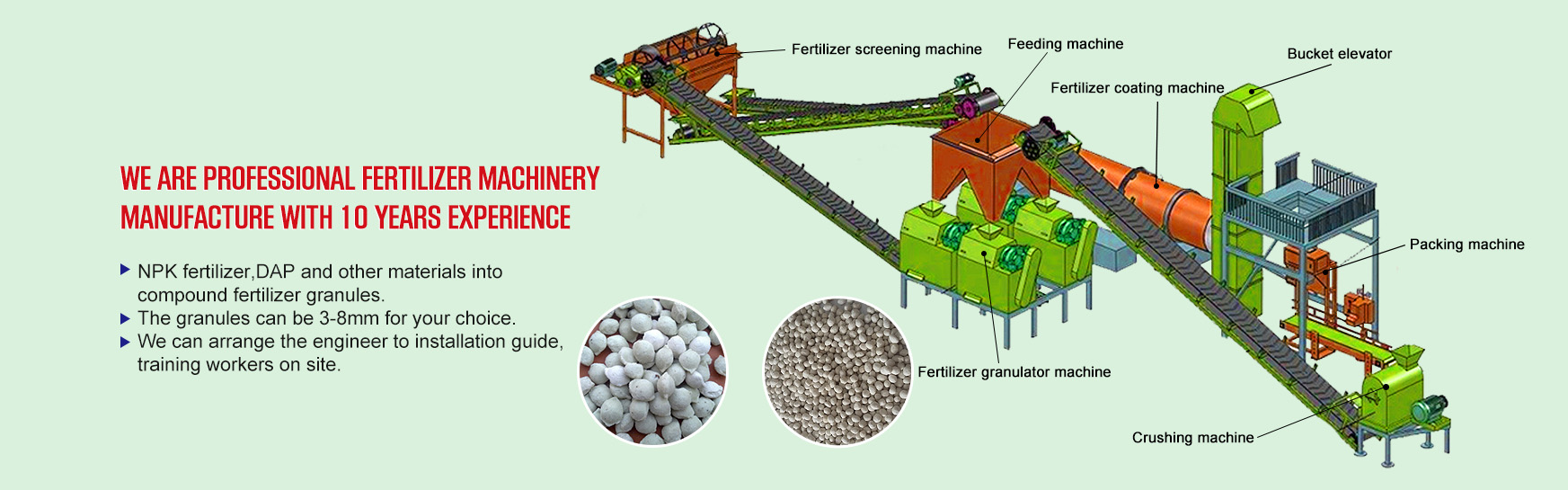COMPOUND fertilizer produksje line