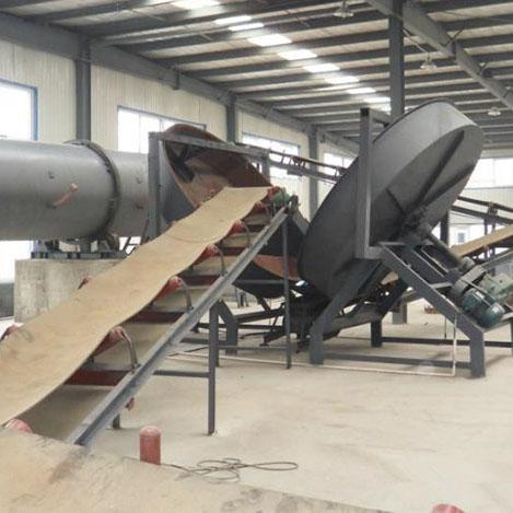 Best-Selling Rive Silt Fertilizer Granulate Production Line - Disc Granulator Production Line – Hengyun detail pictures